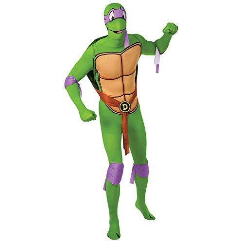 Rubies 2nd Skin Teenage Mutant Ninja Turtle Kostüm (Donatello) - (Turtle Donatello Kostüm)