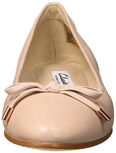 Clarks Grace Lily, Ballerines Femme Beige (Nude Pink Lea)