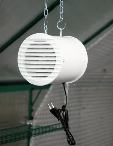 MacGreen Gewächshaus-Ventilator (41 Watt | 320 m³/h)