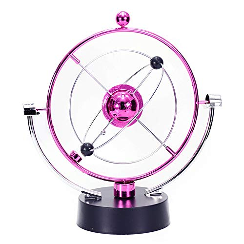 Globe Kinder Celestial Orbital Permanent Motion Instrument kreative Physik Wissenschaft und Bildung Rotation Heimtextilien Desktop-Spielzeug Interaktive Weltkugel