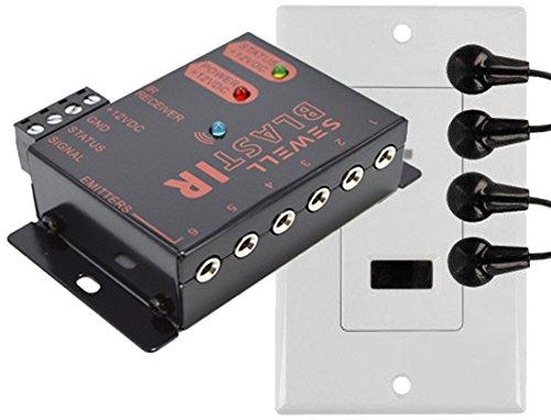 Sewell Direct directa sw-29310BlastIR pared emisor y receptor Kit de placa de pared