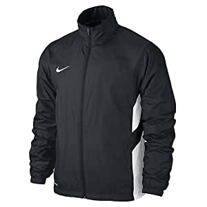 nike academy14 sdln woven veste homme noir noir blanc taille l sports. Black Bedroom Furniture Sets. Home Design Ideas