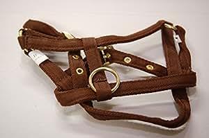 IV Horse Premium Wee Pony Nylon Headcollar (Brown, Small)