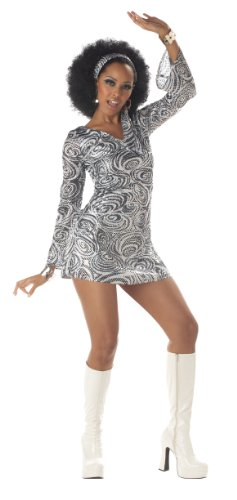 (Adult Disco Diva Costume Medium)