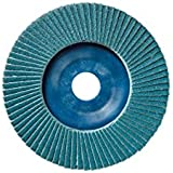 Sidamo - 10 disques à lamelles zirconium D.125 x 22,23 mm Gr 80 Z Plat Lamdisc support nylon - 11001065