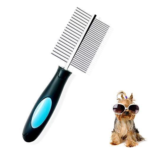 Peine Perro, Peine Profesionalde Doble Cara Mascota
