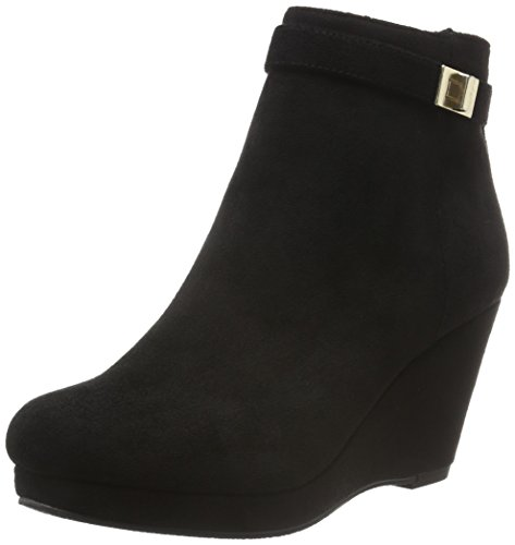 Another Pair of Shoes Stivaletti Zeppa Donna Nero (Black01)