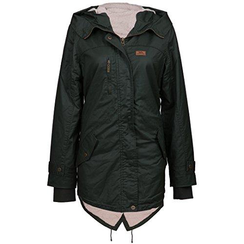 Ruth Ladies Jacket | Jacke für Damen | Ideale Herbst Winter und Regen-Jacke | Kapuze & Warmes Innenfutter | Wasserabweisend & WInddicht Womens Gefütterte Regen Jacke