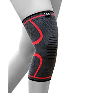 Elastische Kniebandage mit Kompressionseffekt für mehr Stabilität im Alltag und Sport – hochwertige Kniekompresse von Bora Sportswear