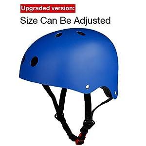 Sport Helmet, TOPFIRE Matt Colorful Women's/Men's BMX Bike/ Skate/ Cycling Helmet