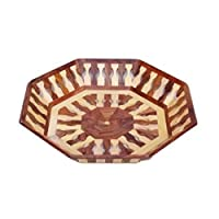 OnlineShoppee Beautiful Handicrafts Wooden Lining Tray