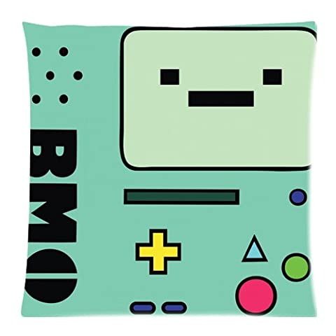 Adventure Time Beemo Custom 18x18 Inch Throw Cushion Cover Pillow Cases (Twin (Adventure Time Cuscino)