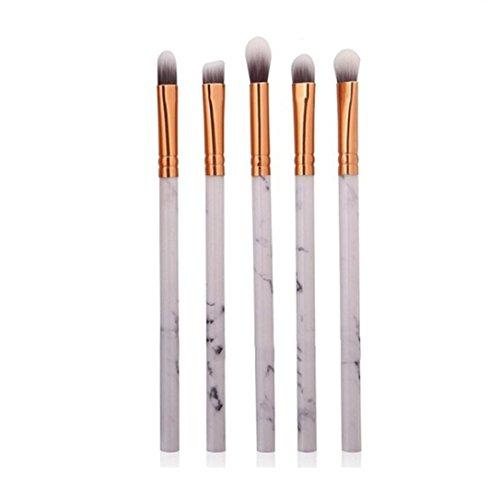 Pinceaux de Fondation,Saihui 5 Pcs Multifonctionnel Maquillage Brosse Concealer Fard À Paupières Brush Set Pinceau Maquillage Outil (B)