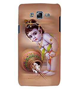 ColourCraft Lord Bal Gopal Design Back Case Cover for SAMSUNG GALAXY J5