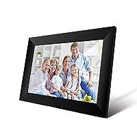 إطار صورة رقمية واي فاي P100 من جوفلاي 10.1 بوصة إطار صور إلكترونيات ذكي 16 جيجابايت للتحكم في تطبيق إرسال الصور والفيديو بشاشة لمس 800x1280 IPS LCD