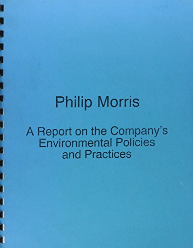 philip-morris-companies-inc-a-report-on-the-companys-environmental-policies-practices