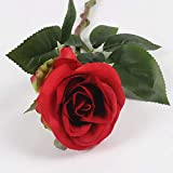 ZTTLOL Einzigartige Künstliche Farbige Rosen Bouquet Blumen Dekorative Seidenblumen Tisch Organisieren Für Hochzeit Dekoration Zu Hause