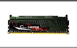 Gskill 4 GB DDR3 1600MHz F3-12800CL9S-4GBSR SNIPER Desktop Memory