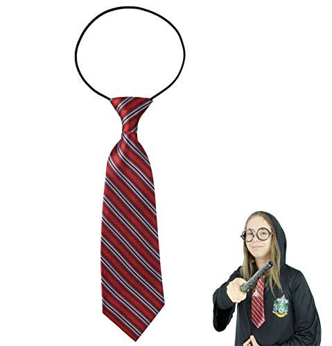 Krawatte Hermine Kostüm - TK Gruppe Timo Klingler Krawatte Zauberer 28 cm Kostüm Verkleidung Accessoires für Kinder