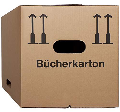 20 Buecherkartons Typ Profi 400 x 320 x 320 mm