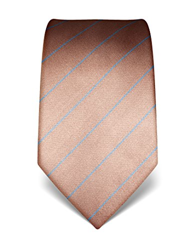 vb-mens-silk-tie-striped-many-colours-availablelightbrown