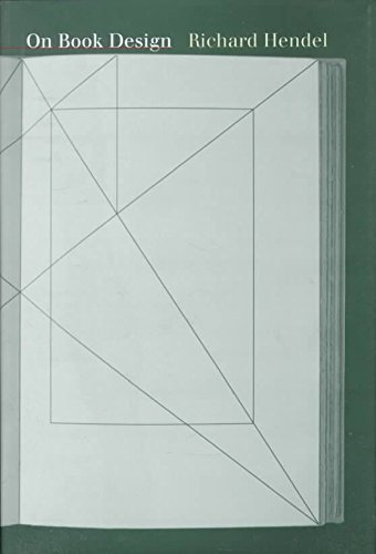 [(On Book Design )] [Author: Richard Hendel] [Jan-1999]