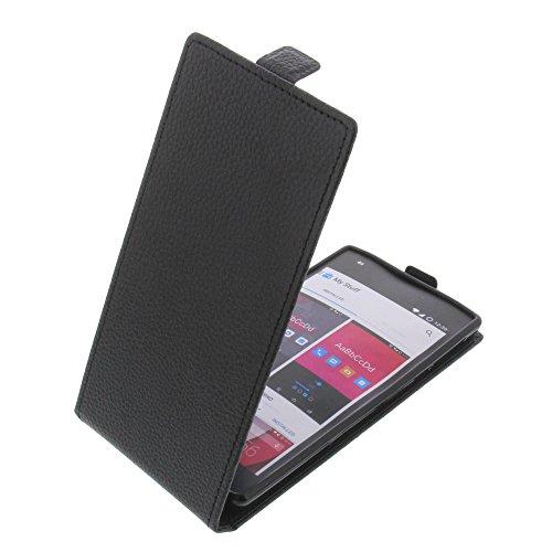 foto-kontor Tasche für Wileyfox Storm Smartphone Flipstyle Schutz Hülle schwarz