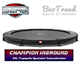 Bergtoys Trampolin Champion Grey Sport Series, InGround, 330cm