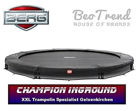 Bergtoys Trampolin Champion Grey Sport Series, InGround, 380cm