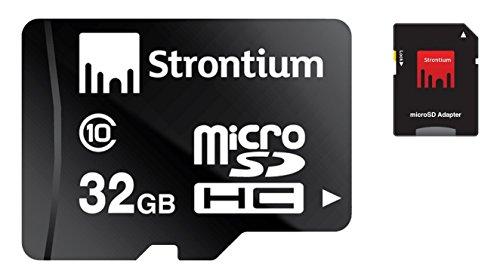 Strontium Nitro 32Gb Class 10 MicroSDHC UHS-1 Memory Card