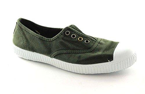 CIENTA 70777 35/39 kaky scarpe unisex elastico tessuto 35