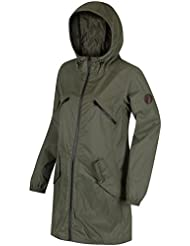 Regatta da donna RWW2875x D24L Adeltruda impermeabile giacca Shell, edera verde, taglia 20