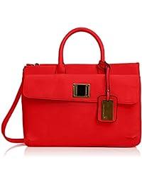 SwankySwansElle Pu Leather Business - Maletín para portátil mujer