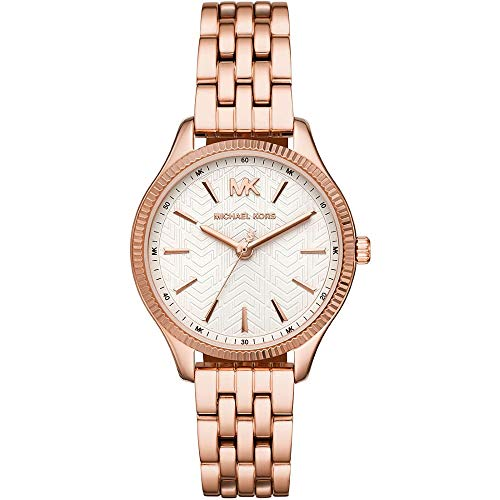 MICHAEL KORS Damen Analog Quarz Uhr mit Edelstahl Armband MK6641
