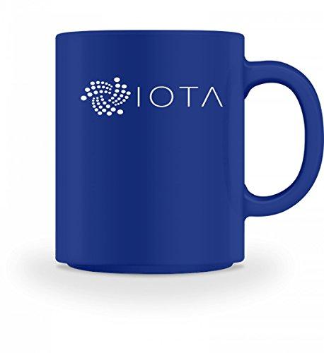 Hochwertige Tasse - Iota shirt iota tshirt für kryptoverliebte Royal Blau