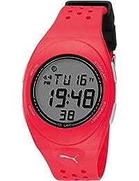 Puma Time Active Unisex-Armbanduhr Faas Digital Plastik