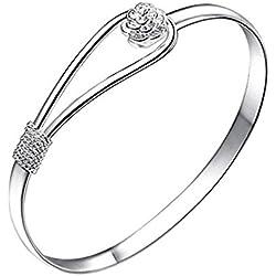 Cdet Bracelet de Mode Cerise Bracelet Femmes Bracelet Chaîne Bijoux Poignet décoration Romantique Cadeau de Mariage Noël
