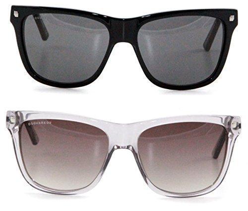 dsquared-designer-sonnenbrille-durchsichtig-glasig-mit-grau-braunen-glasern-wayfarer