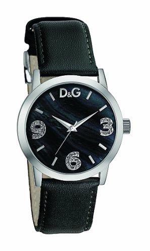 D G Dolce Gabbana DW0689 – Reloj analógico de mujer con correa de acero  inoxidable negra 8ad5d7fb8dda