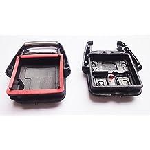 INION® Opel ks12a–Juego de 1x llave de recambio chasis–3Botón Llave de Coche Llave Mando a distancia inalámbrico llave Carcasa sin Elektronik + 2x Unidades coche lámpara 12V T10Casquillo