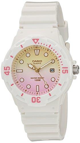 Casio LRW-200H-4E2 - Reloj de pulsera de mujer, resina, color blanco