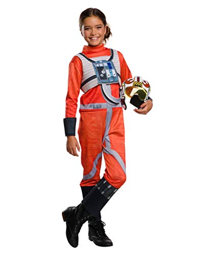 rtes Star Wars X-Wing Fighter Pilot Kinderkostüm für die Motto Party S ()