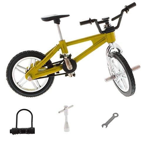 B Blesiya 1 / 24th Mini Lega Bici Bike BMX Mountain Bicicletta da Bicicletta Giocattolo Regali...