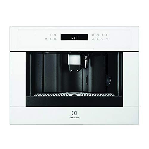 Electrolux 942401224compacto empotrable de cafetera eléctrica ebc54524av, color blanco
