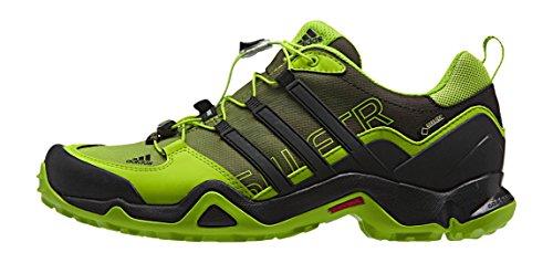 adidas Terrex Swift R Gtx, Chaussures de Randonnée Basses Homme, Eqt Blue Core Black Multicolore - Negro / Verde / Blanco (Negbas / Seliso / Blatiz)