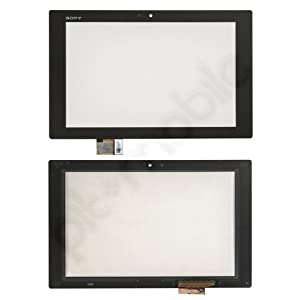 Displayglas + Touchscreen black für Sony Xperia Tablet Z