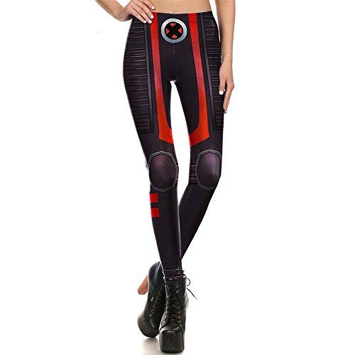 Vêtements Femme Leggings Super Héros X-Men Leggins Legging imprimé pour habillement femme Xmen M