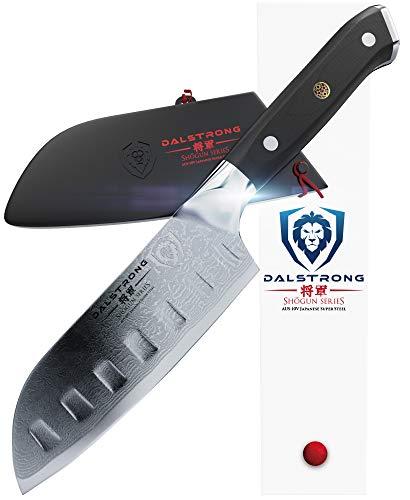 Dalstrong Kleines santoku Messer - Shogun Series - Japanisch - AUS-10V – Vakuum-wärmebehandelt – Mini Santoku Knife 12,7 cm – Mit Messerscheide