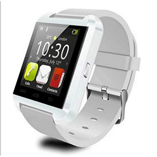 Kisshes Bluetooth Sport Smart Watch Pulsmesser Fitness Tracker Running GPS-Geräte Schwarz Blau Rot Weiß