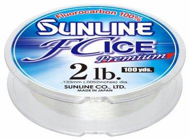 Unbekannt Sunline Pendelschirm 63042330FC Ice Premium Klar 1Lb Angelschnur, klar, 100yd